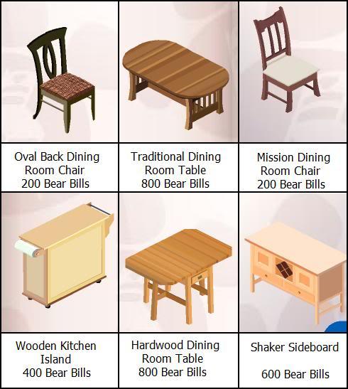 New Furniture in Bear Stuff Store! Newnovbearstuff