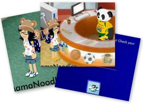 Pawsome Panda gives out Sporty Cleats Pandaprizedone