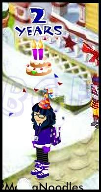 2nd Year of BABV Birthday Quest Partyemote