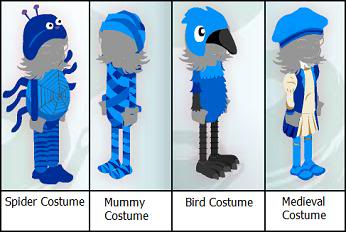 Costumes in the Pawlette Coufur Boutique! Pawlettecostume