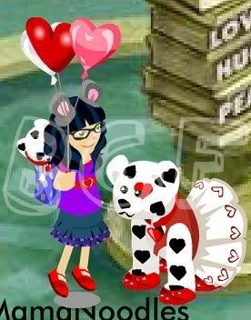 Be Mine Dalmation Quest Puppyquest