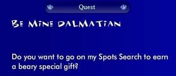 Be Mine Dalmation Quest Puppyquest2
