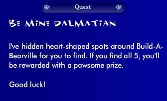 Be Mine Dalmation Quest Puppyquest3