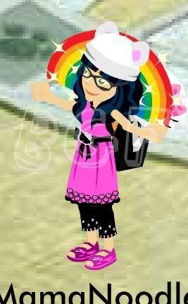 Hello Kitty Bow Quest Rainbowmove2