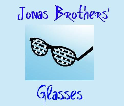 Jonas Brother's Glasses Auction Rockglasses