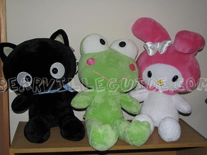 Chococat, Keroppi, and My Melody at BABW! Sanriofriends2