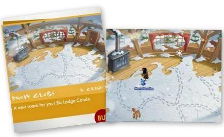 Snowglobe Room for your Ski Lodge! Snowroomdone