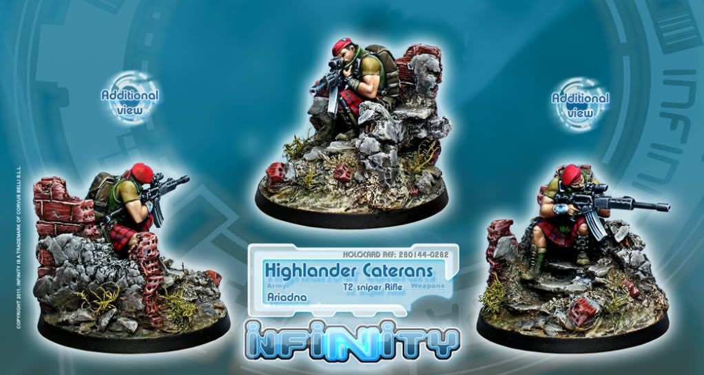 New Releases - Oniwaban Shinobu Kitsune and Highlander Caterans 0282_HighlanderCateranT2Web