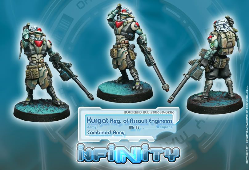 New Releases - Order Sergeants, Kurgat Regiment of Assault Engineers and Carlota Kowalsky 286_KurgatMK12web