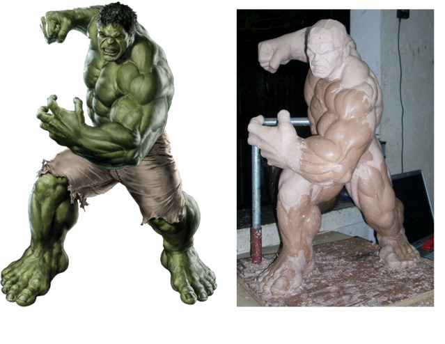 MOVIE Avengers HULK custom 1/4 scale HulkRef