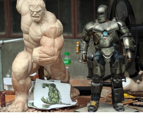 MOVIE Avengers HULK custom 1/4 scale IMG_3781