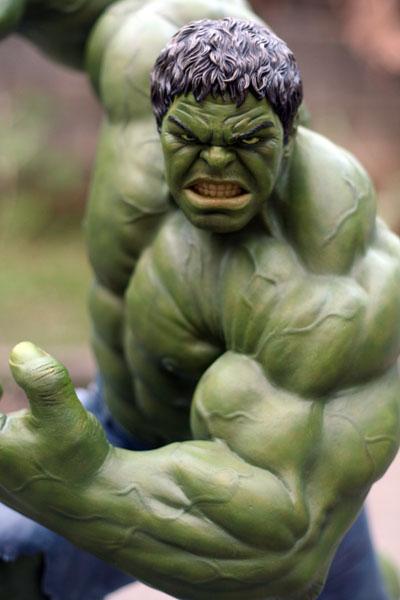 MOVIE Avengers HULK custom 1/4 scale IMG_3894
