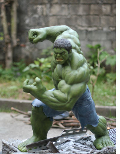 MOVIE Avengers HULK custom 1/4 scale IMG_3895