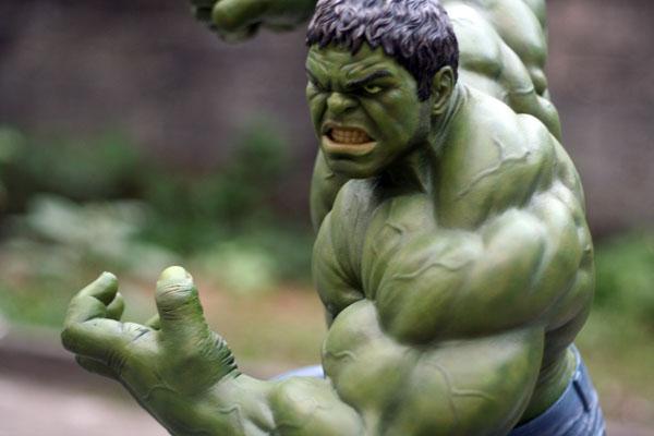MOVIE Avengers HULK custom 1/4 scale IMG_3909