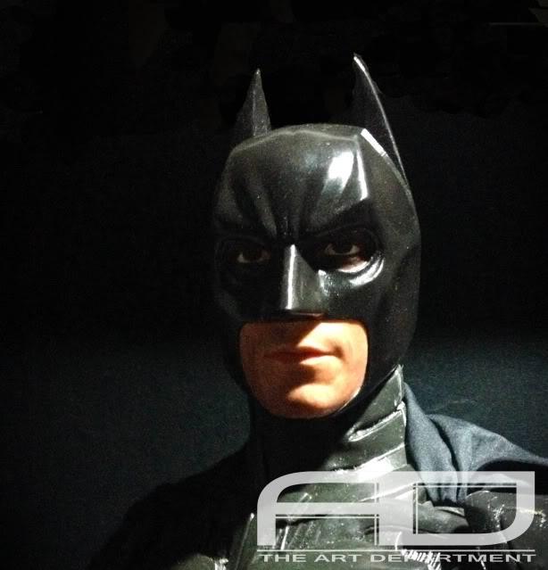 Dark Knight ( C. BALE)  Half Scale custom full statue IMG_1482