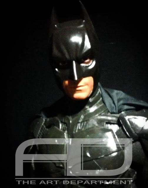 Dark Knight ( C. BALE)  Half Scale custom full statue IMG_1488