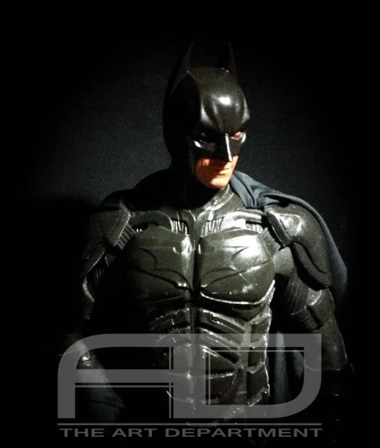 Dark Knight ( C. BALE)  Half Scale custom full statue IMG_1489