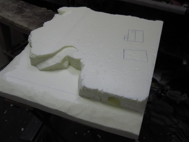 4th Piece to my gameboard. WIP Building ready for paint. 4sosapydst006