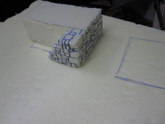 4th Piece to my gameboard. WIP Building ready for paint. 4sosapydst007