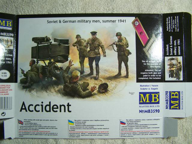 Master Box Accident – Soviet & German Military men, Summer 1941 in 1/35th Scale Kit # MB3590 AccidentBoxFront_zps0a9fcf1a