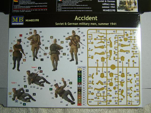 Master Box Accident – Soviet & German Military men, Summer 1941 in 1/35th Scale Kit # MB3590 AccidentBoxRear_zpsed917ca9