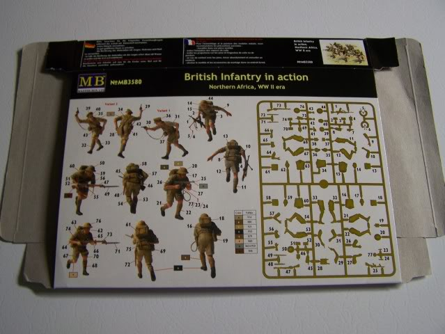 Master Box British Infantry in action N/A WW-II BritishInfantryDesertRatsback