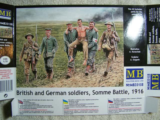 Master Box British and German Soldiers – Somme Battle 1916 in 1/35th Scale Kit # MB35158 BritishandGermanSoldiersSommeBattle1916boxfront_zps60264505