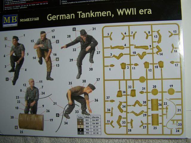 Master Box German Tankmen, WW-II era in 1/35th Scale Kit # MB35160 GermantankmenWW-IIBoxRear_zpse878f046