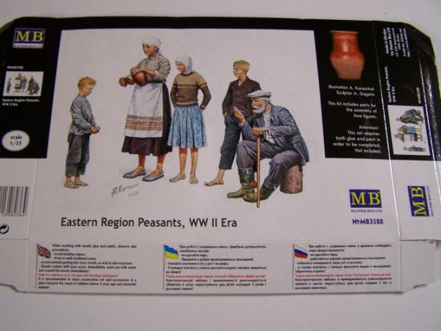 Master Box Eastern Region Peasants WW-II Era PeasantsEasternEuropeboxfront