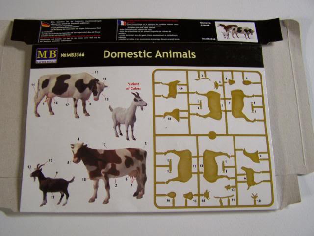 Master Box Domestic Animals Domesticanimalsboxrear
