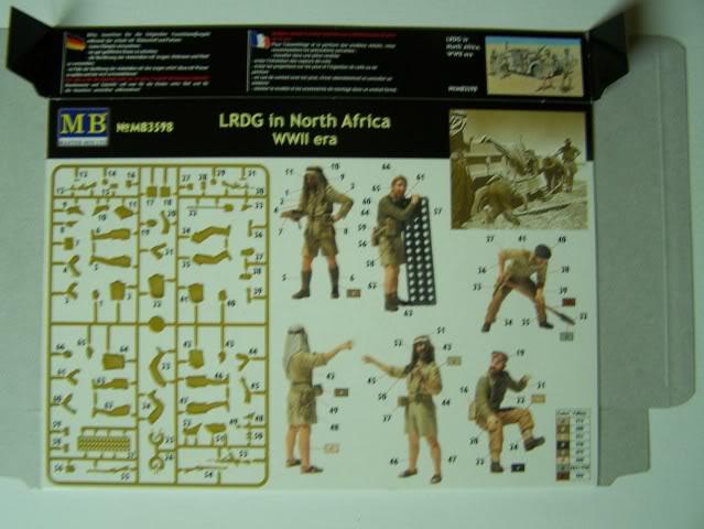 Master Box - LRDG in North Africa LRDGinNorthAfricaboxrear