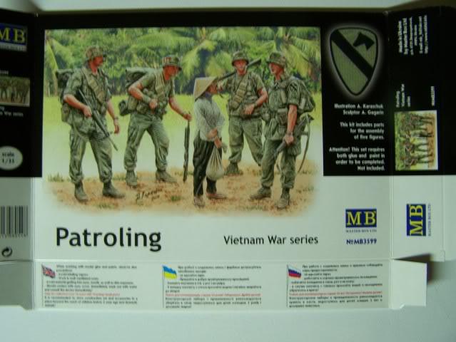 Master Box - Patroling, Vietnam War Series PatrolingVietnamboxfront