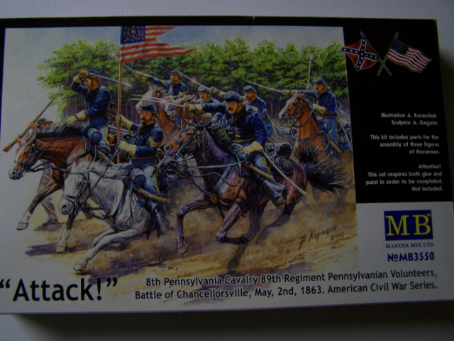 Master Box 8th PA Cavalry, 89th Reg PA Volunteers 8thPACavalryboxfront