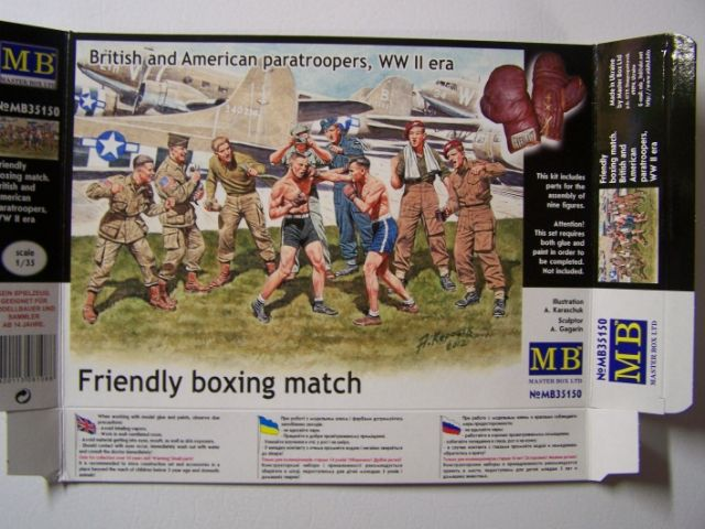 "Master Box ""Friendly Boxing Match"": British and American Paratroopers, World War II Era in 1/35th Scale FriendlyBoxingmatchFront_zps72f0c42c"