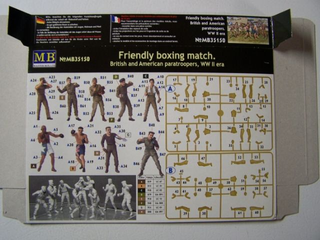 "Master Box ""Friendly Boxing Match"": British and American Paratroopers, World War II Era in 1/35th Scale FriendlyBoxingmatchRear_zpsc36764be"
