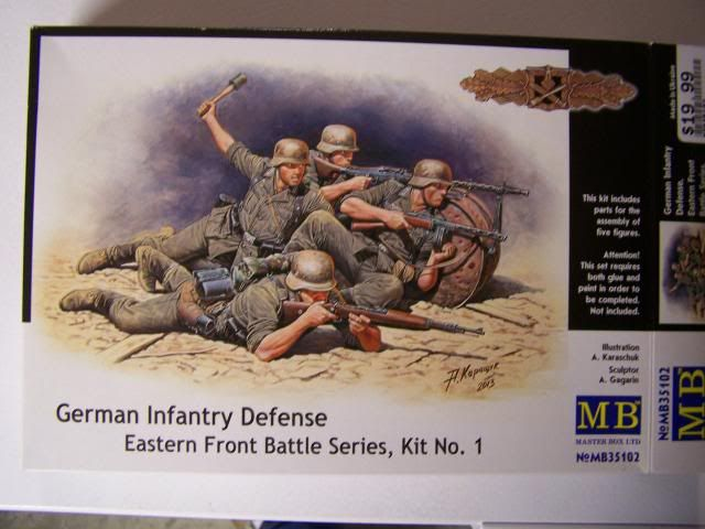 Master Box German infantry defense - Eastern Front Battle Series, Kit No. 1 GermanInfantryDefenseBoxfront_zpsc284d977