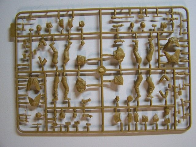 German Infantry – Western Europe 1944-1945 in 1/35th Scale, Kit # MB3584 GermanInfantry-WesternEurope1944-1945Sprue