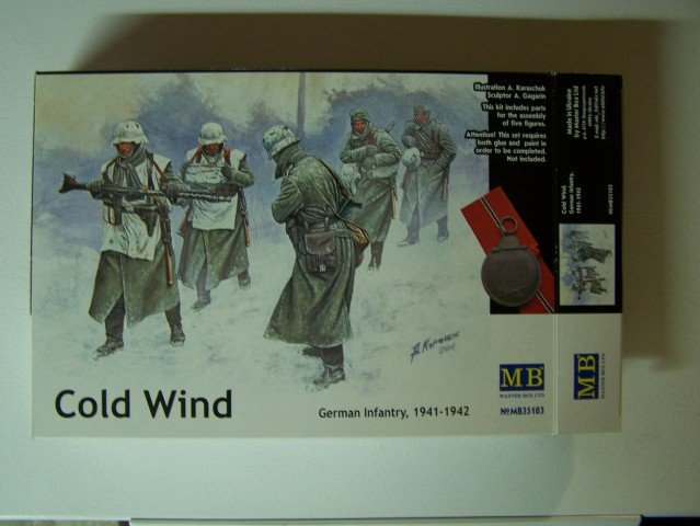 Cold Wind - German Infantry 1941-1942 in 1/35th Scale, Kit # MB35103 ColdWind-GermanInfantry1941-1942boxfront