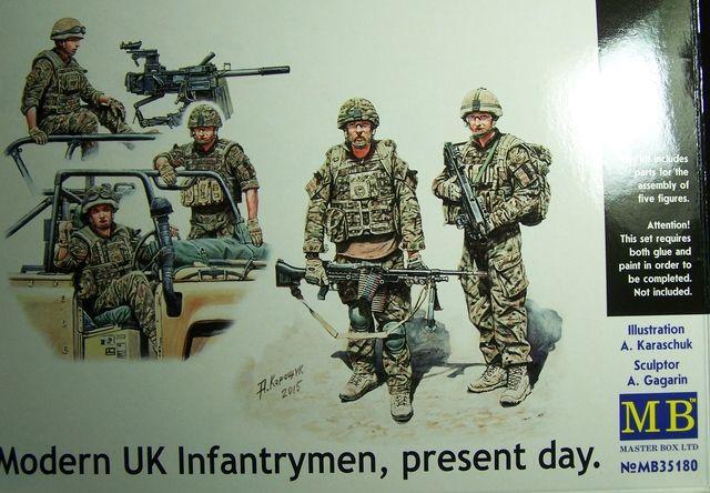 Modern UK Infantrymen – Present day. 1/35th Scale, Kit # MB35180 Modern%20UK%20Infantrymen%20Box%20Front_zpsynpyhndr