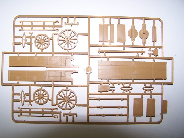 Master Box West European Cart in 1/35th Scale Kit # MB3562 WestEuropeancartsprue