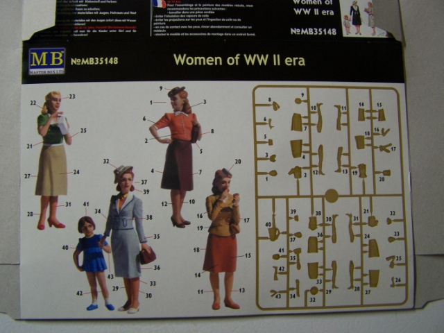 "Master Box ""Woman of WW II Era"" in 1/35th Scale WomanorWW-IIRear_zpsa7941c5c"