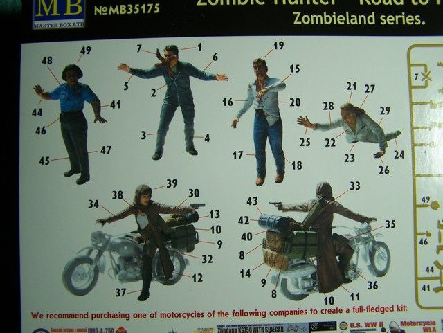 Master Box Zombie Hunter – Road to Freedom in 1/35th Scale Kit # MB35175 Zombie%20Hunter%20box%20directions_zpspvwgd44e