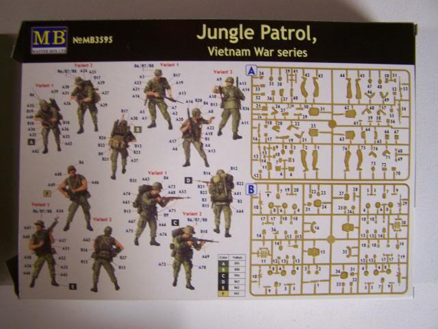 Master Box Jungle Patrol – Vietnam War Series in 1/35th Scale Kit # MB3595 JunglePatrolboxrear_zps84413ac1