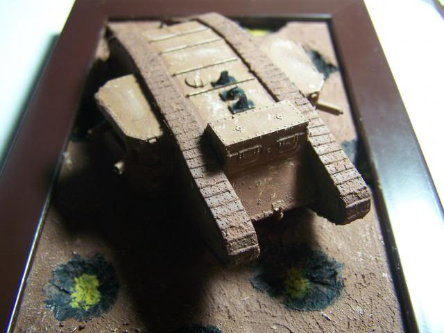 "Master Box MK 1 ""Female"" British Tank Somme battle period, 1916 (WW-I) in 1/72nd Scale Kit # MB72002 BritishMKIFemaleTankOverviewFront_zpse2d3b986"