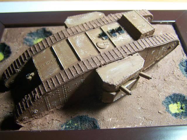 "Master Box MK 1 ""Female"" British Tank Somme battle period, 1916 (WW-I) in 1/72nd Scale Kit # MB72002 BritishMKIFemaleTankOverviewRight_zpsedc73f14"