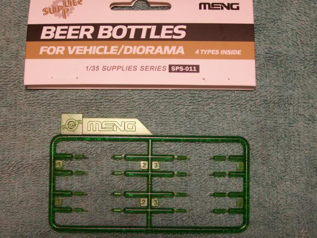 MENG - Beer Bottles for vehicles/dioramas in 1/35th scale Kit #SPS-011 MengBeerBottles1_zps6a2c5733