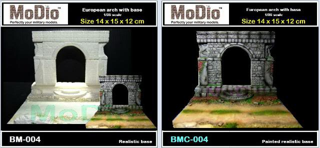 MoDio European Arch with Base Kit # BM-004  BM004