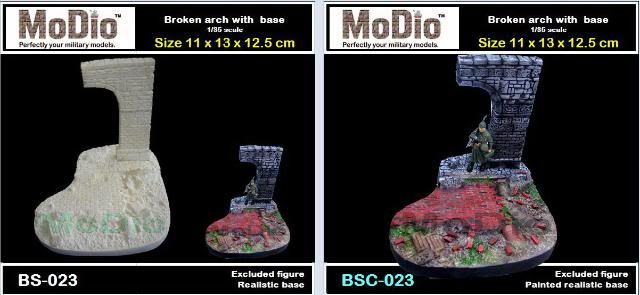 MoDio European Arch with Base Kit # BM-004  BS023