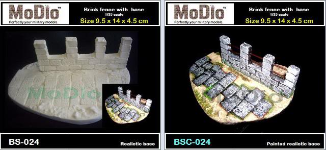 MoDio European Arch with Base Kit # BM-004  BS024