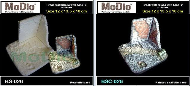 MoDio European Arch with Base Kit # BM-004  BS026